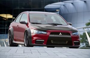 Evo Coupe by chopperkid44