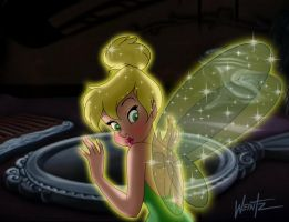 Tink's Mirror by snowsowhite