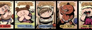 Garbage Pail Kids Cards by soliton