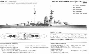 Technical Drawings: HMS Royal Sovereign by bwan69