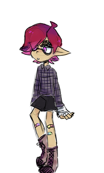 squidsona by wraithcanid