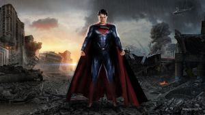 Man Of Steel ready for battle. by djprincenorway