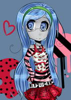 FA: Ghoulia Yelps by Doki-i