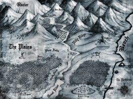 """Northlands"" Map by DerekWalborn"