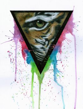 Eye of the Tiger by Cindy-R