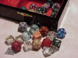 My Dice by materiakeeper