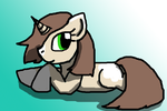 Sandstorm the Unicorn for arenisca-chan by MissLuckychan29