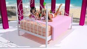 READY The Peachy Maid's Valentines 2016 bed by mCasual