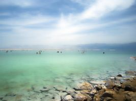 Dead Sea - point of view by DaniBabitz