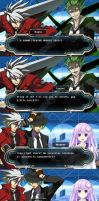 Hyperdimension Neptunia X Blazblue Comic Part 9 by pratama221