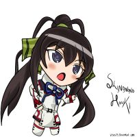Infinite Stratos _Houki Chibi by vchen79