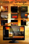 Spirit of Orange Windows 7 theme by poweredbyostx