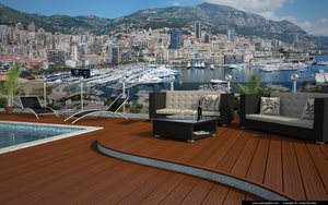 Roof terrace by slographic