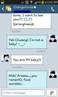 Changkyu Text Messages 2 by MangaandAnimeLuver
