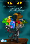 The Legend of Rune: Rising Fears Movie Poster by DeethIrteen