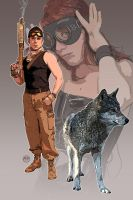 Jericho Creed: Lone Wolf by pypeworks