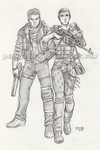 Commission - Furiosa and Max by DeanGrayson