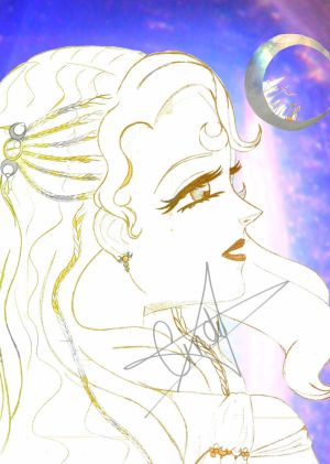 Gold of the Siver Moon Godess