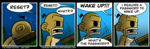 The Reset Button - Wake Up by geogant