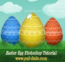 Easter Egg Tutorial by PsdDude