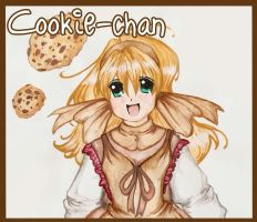 Cookie-chan - Gouache by CandyGirlxD