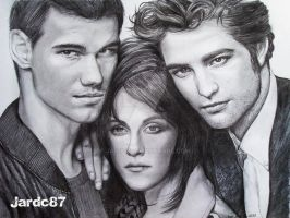 Taylor, Kristen and Robert by jardc87