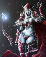 sylvanas windrunner by Aosk26