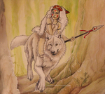 Princess Mononoke by Sidonie