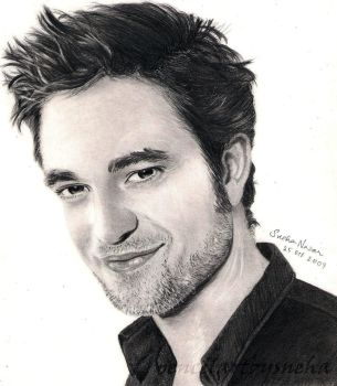 Robert Pattinson by artmapassion