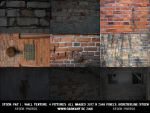 old brick wall stock pac 1 by borderline-stock