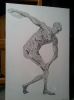 The discus thrower by ArrowTurtle