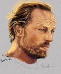 Game Of Thrones - Jorah Mormont Study by PauloDuqueFrade