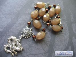 Khaleesi with Dragon Eggs Necklace by SpellsNSpooks