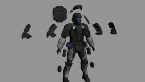 New ODST texture WIP by Robotlouisstevenson