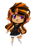 sandra chibi ex. by miki-the-fox