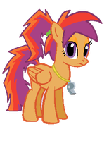 Older Scootaloo by StarryOak