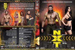 WWE NXT July 2013 DVD Cover by Chirantha