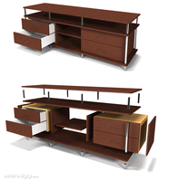 Entertainment Cabinet by microUgly
