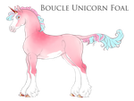 Boucle Unicorn Import B241 by SilveringOak
