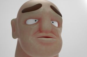 Zbrush doodle day 109 - Blok by UnexpectedToy