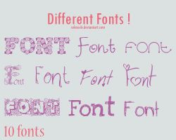 Fonts .03 by selexsele