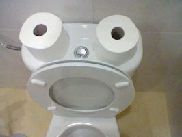 OMG TOILET by peaceelectronics
