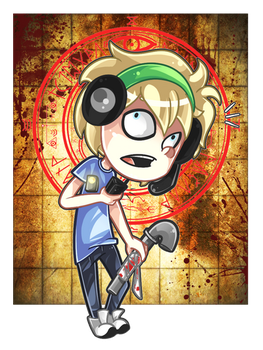 Silent Hill Pewdie by Arkeresia