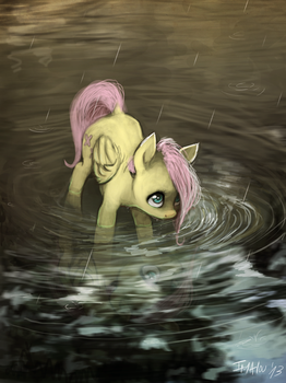 Deep inside the forest by Imalou
