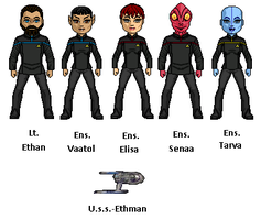 Uss Ethman by digikevin10