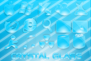 Pack Crystal Glass by Skynix