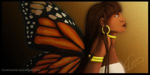 Butterfly's Profle by KiraTheArtist