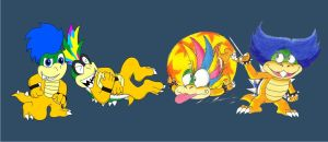 Koopaling Collab by KoopaKrazy85