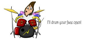 Drum Fairy by KerloMusic