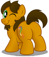 Me in drawponies' style by AleximusPrime